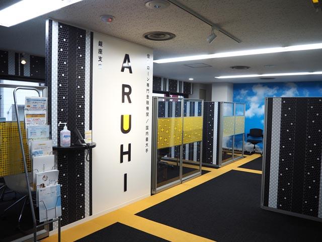 ARUH店舗